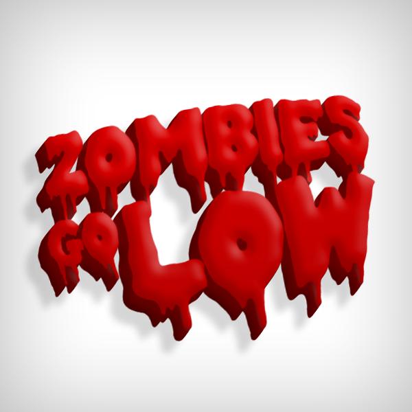 Zombies Go Low by azdie