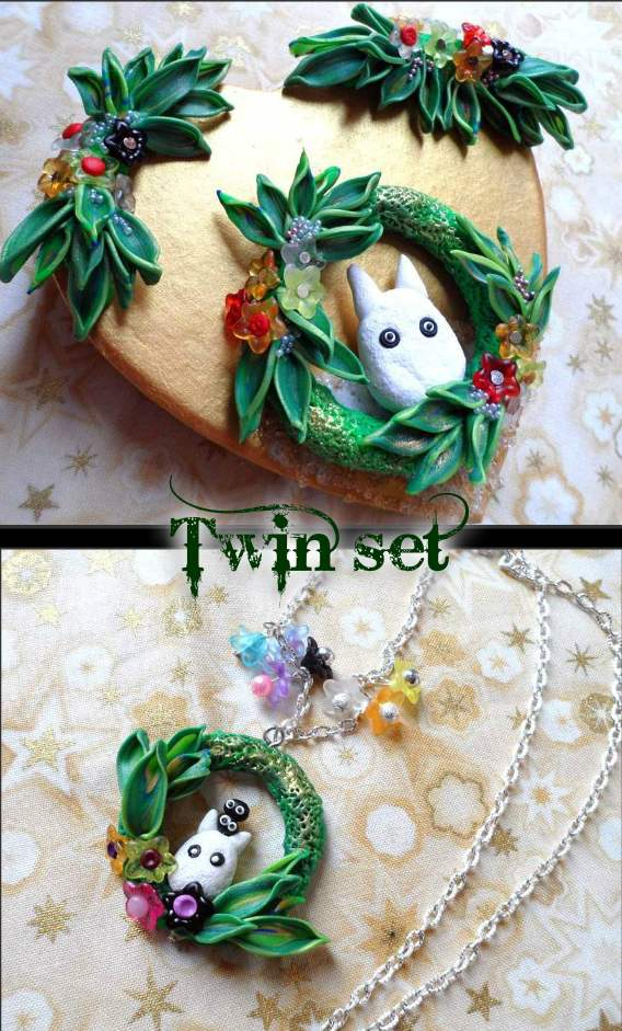 Twinset Totoro by PankoKawaii