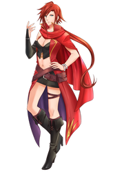 Amari, Red Mage