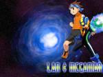 Wallpaper - Lan and MegaMan