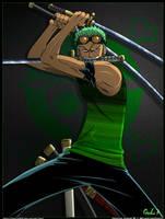 Zorro Roronoa by goku003
