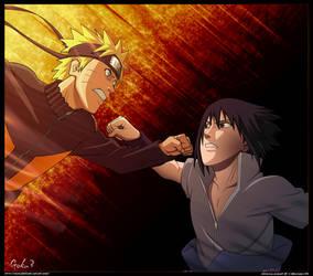 Naruto VS Sasuke Last Time
