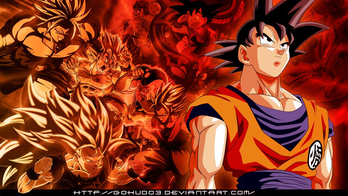 Goku All-work wallpaper by goku003 on DeviantArt
