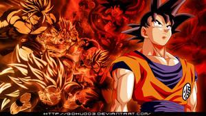 Goku All-work wallpaper