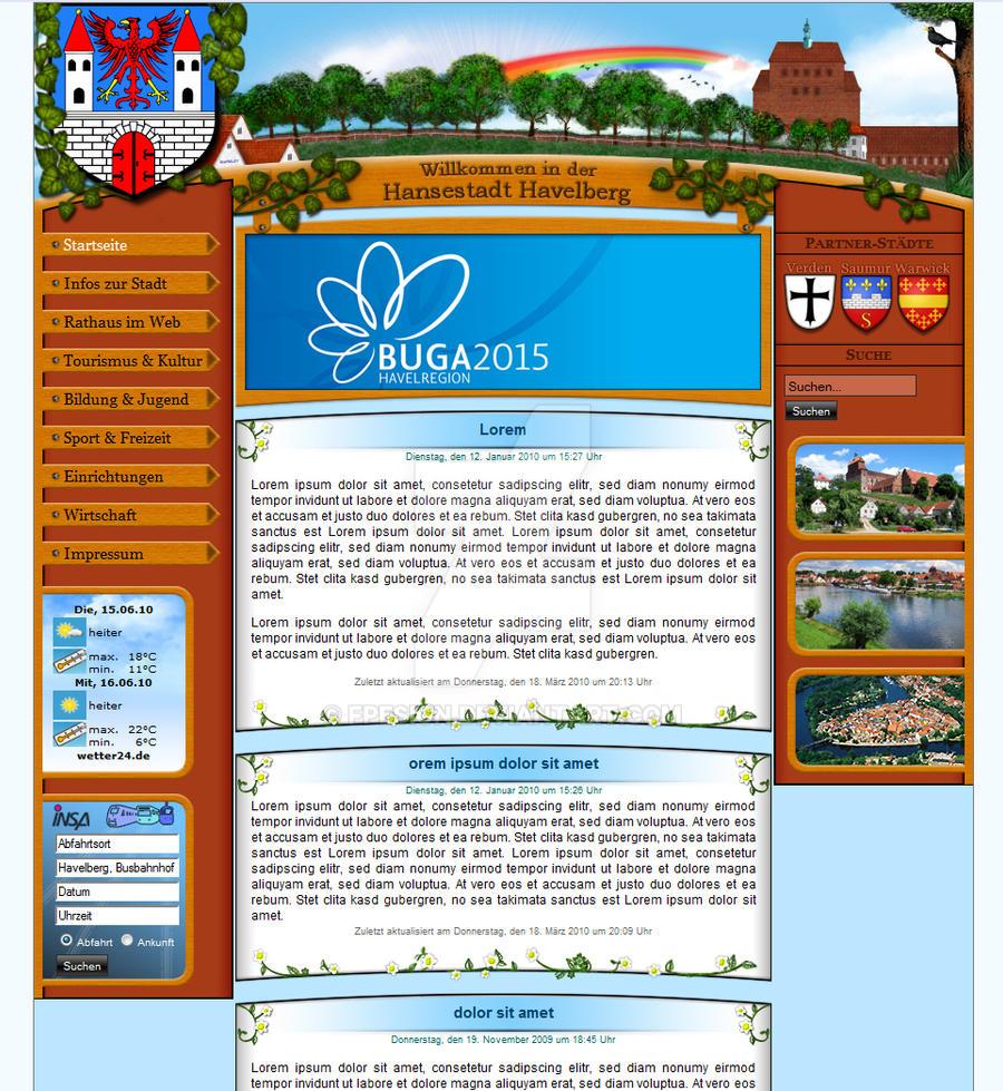 Stadt Havelberg-Website Kozpt.