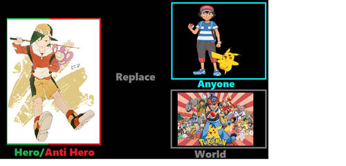 What if Pokespe Gold replaced Ash in the Anime?