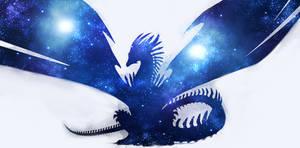 Stellar Dragon - Blue