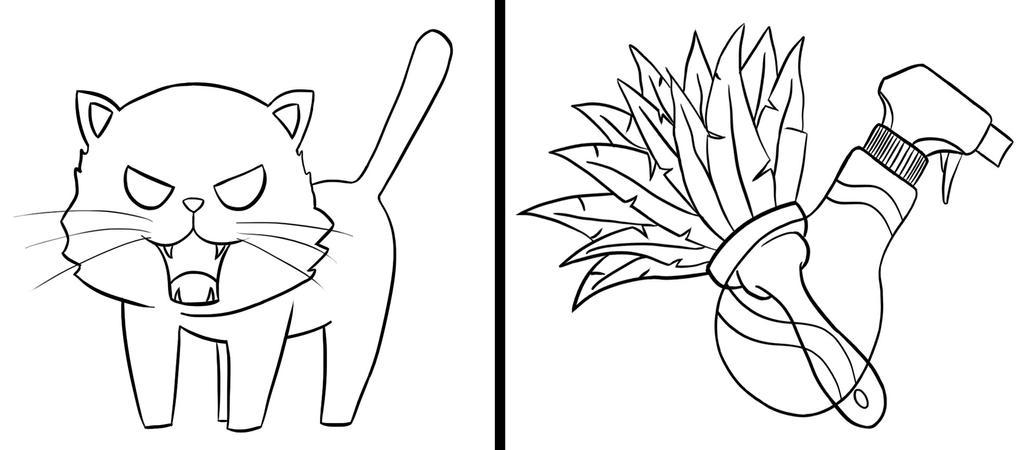 Toradora! - Uma no Variant Cutie Marks - Lineart by Star-Killer89