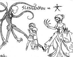 Slenderman VS. The Blair Witch
