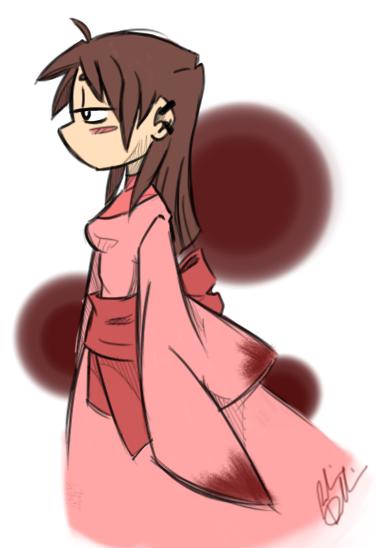 PinkKimono by DoodleScout