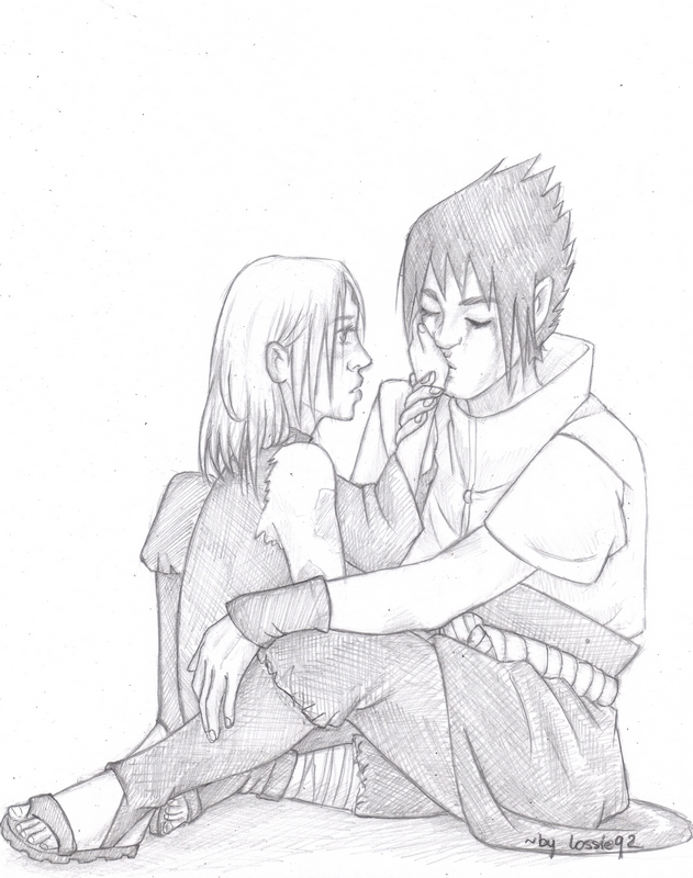 sasusaku: into pieces by lossie92