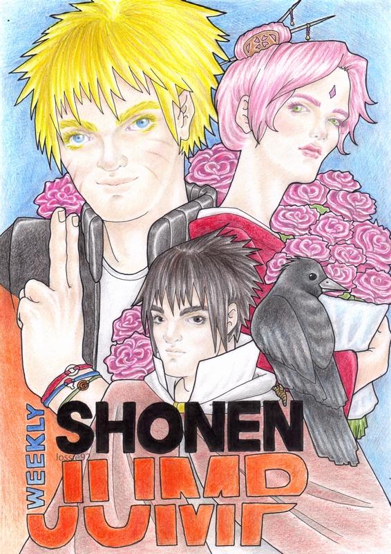 Shonen Jump: COVER by lossie92