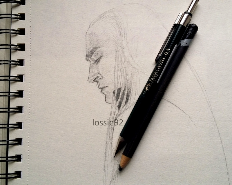 Thranduil (WIP) by lossie92