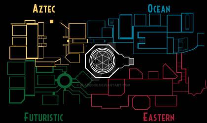 Freakishly Huge 2021 Project: Zone Map