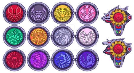 Eto Ranger: Eto Medals