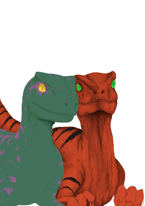 Raptors 02 by m-kins