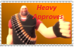 I APPROVE OF THIS STAMP by heavywutplz