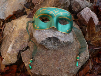 'Redone Fairy Mask' -Elfqueen by Mask-Making-Artisans