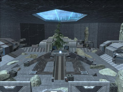 Halo Reach Map: Saturn by KindiChan