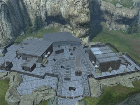 Halo Reach Map: Nuketown 1 by KindiChan on DeviantArt
