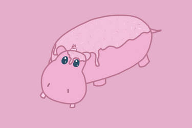 Cupcake Hippo