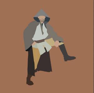 Obi-Wan Kenobi Vector