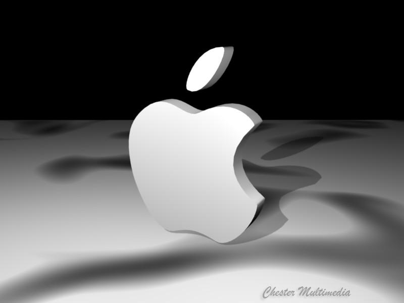 3d apple logo by chestermultimedia on deviantart. Black Bedroom Furniture Sets. Home Design Ideas