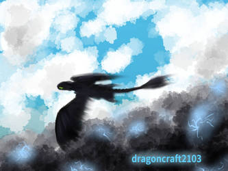 Quick Toothless Sketch