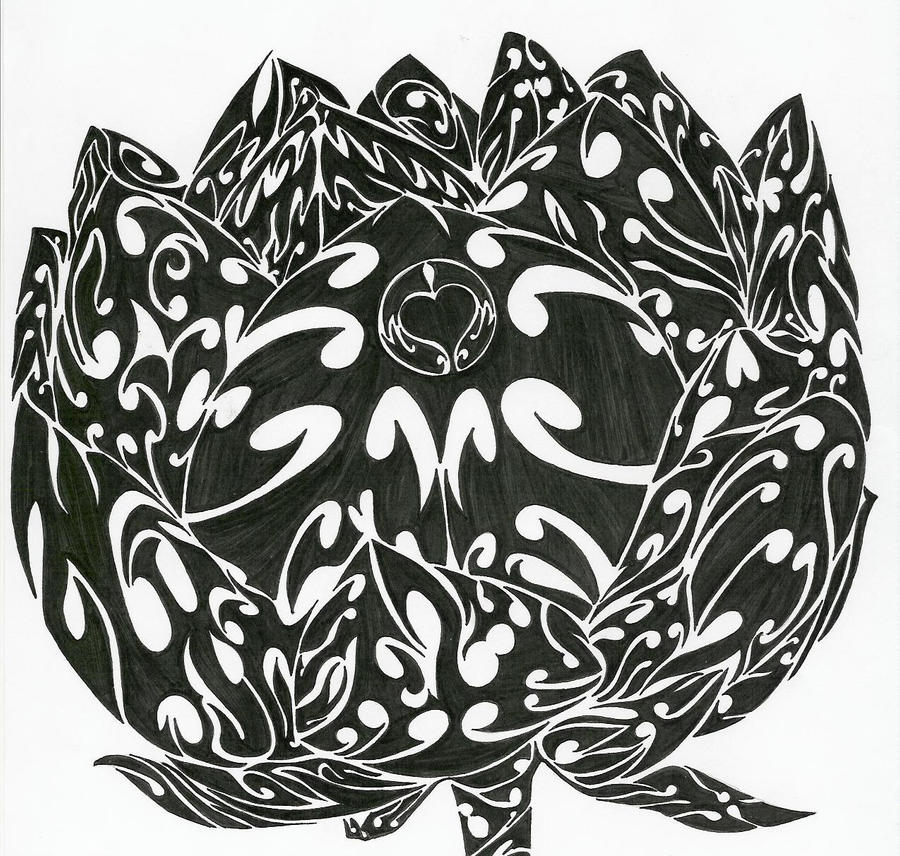 Tribal Lotus Flower By SovereignImpresario On DeviantArt