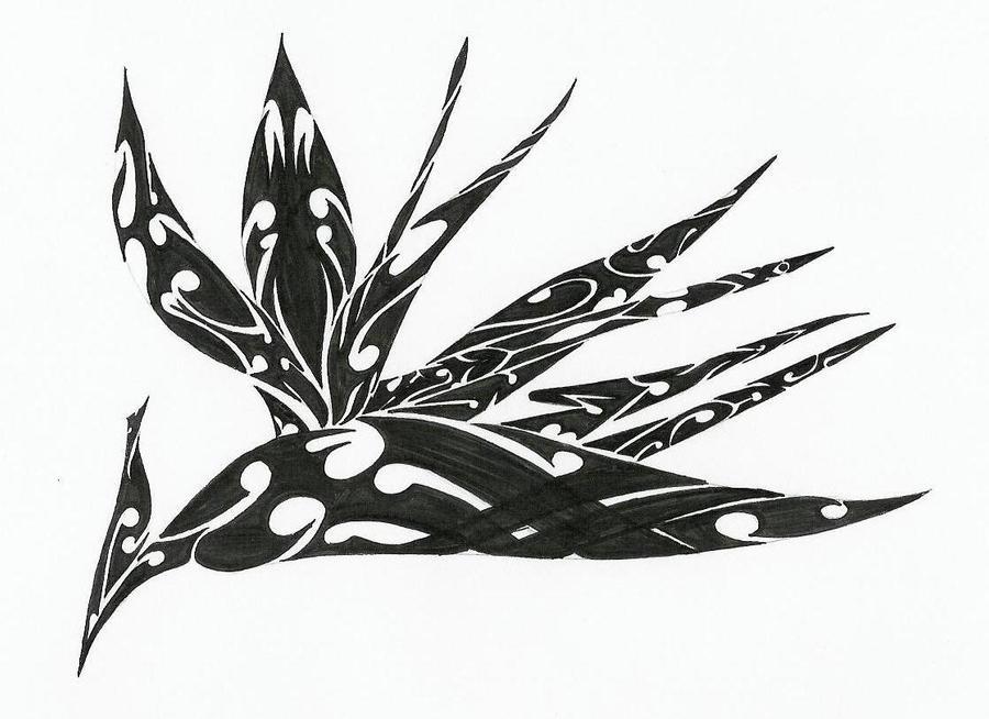 Tribal Bird of Paradis...