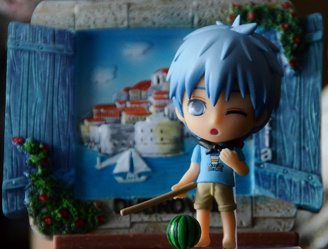 Kuroko on holidays by SebastianaMonamour