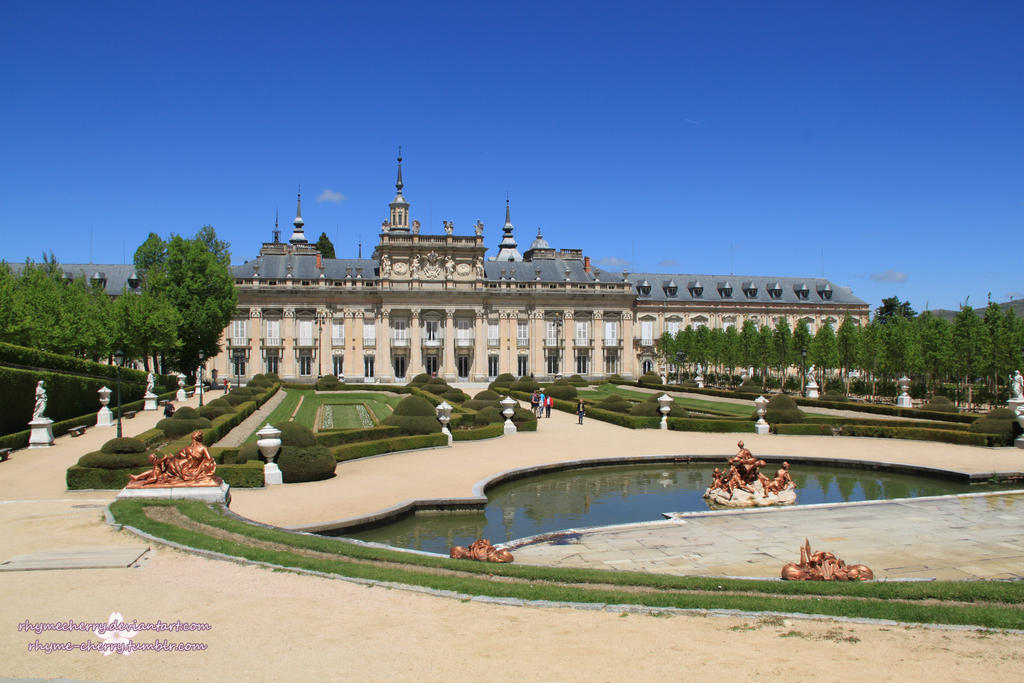 Granja de san ildefonso jardines by rhymecherry on deviantart for Jardines granja san ildefonso