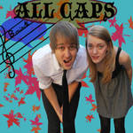ALL CAPS CD COVER by EightyDavis