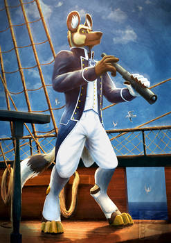 Commission - Sailing the Seas