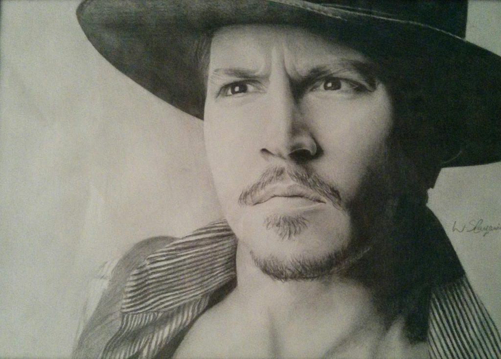 Portrait of Johnny Depp by WStanganini on DeviantArt