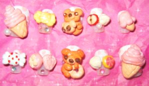 Sweet 3D Japan Nail Set 02 by chewtile