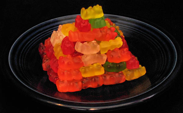 Egyptian Gummy Bears by martypunker