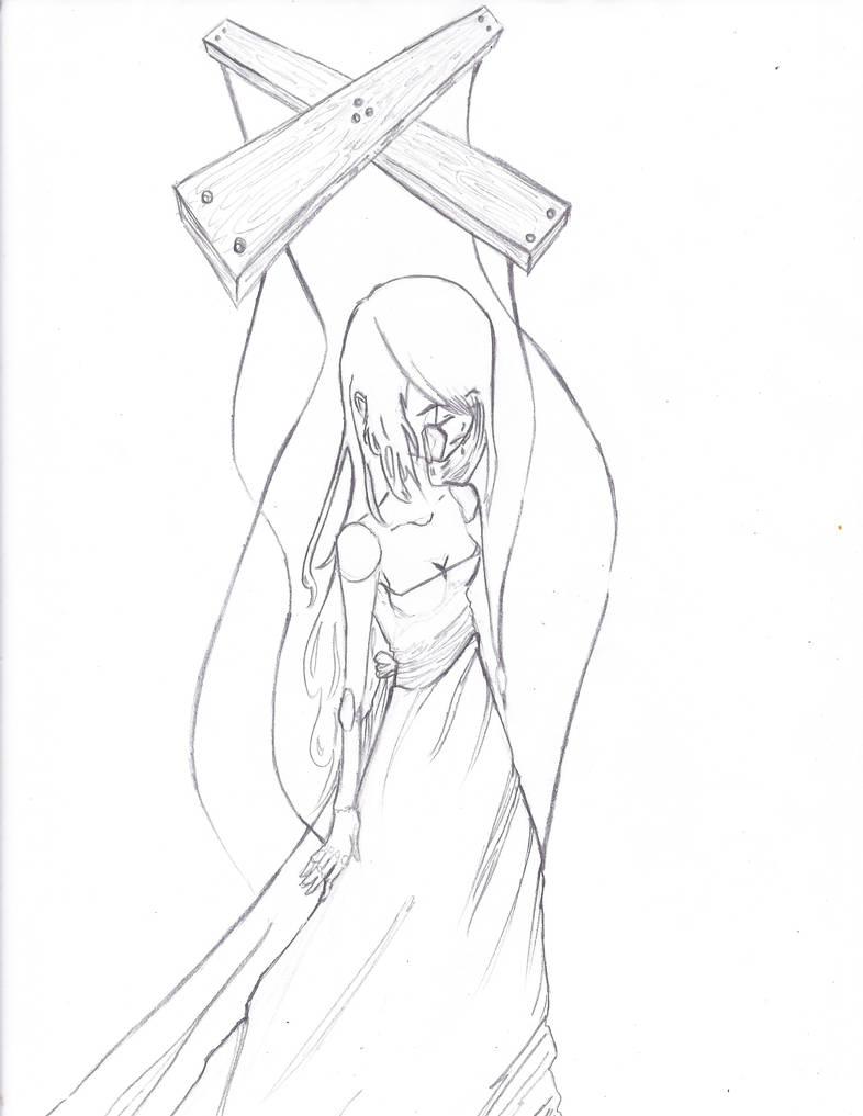Set me free pencil sketch by rachel1197