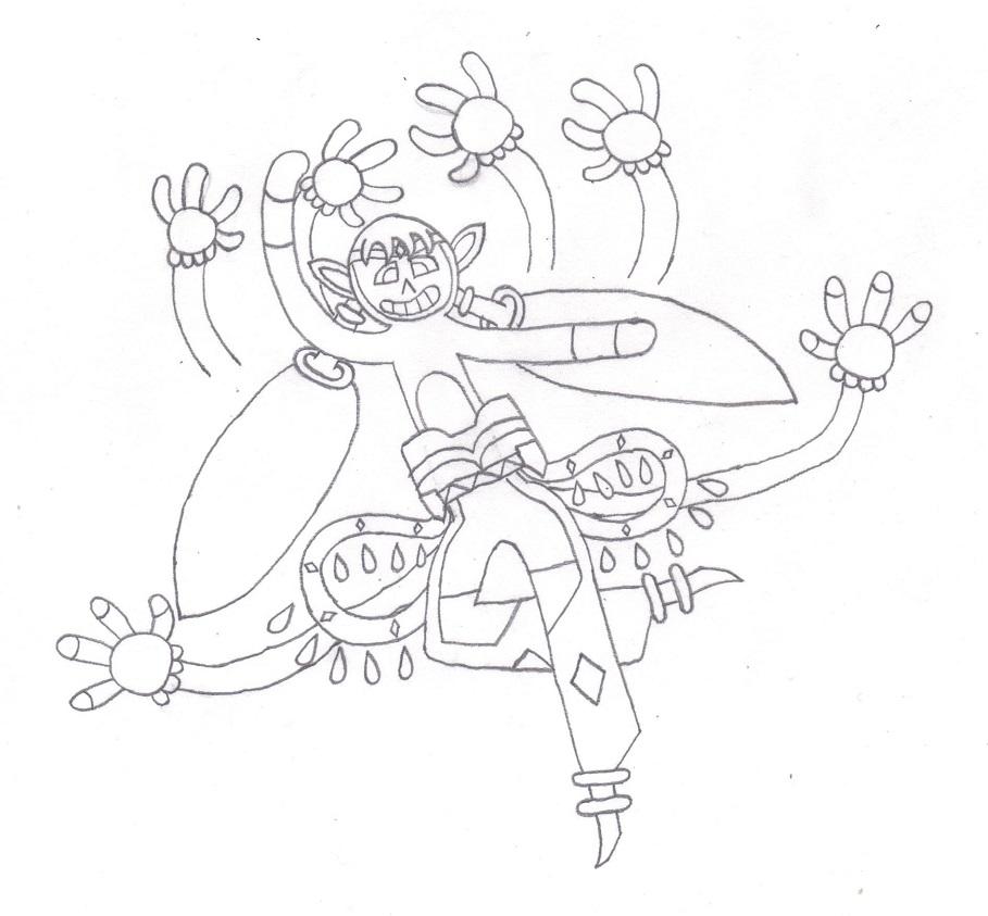 Genie groovin' for gems by Pom-Lover424