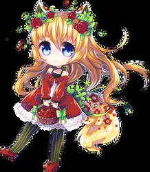 [COMISSION] Rin-Ringo ! [SPEEDPAINT] by nechin