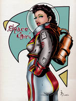 Todd Borenstein's Space Girl by Tmborenstein