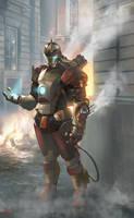Steampunk Ironman by ManoAlada