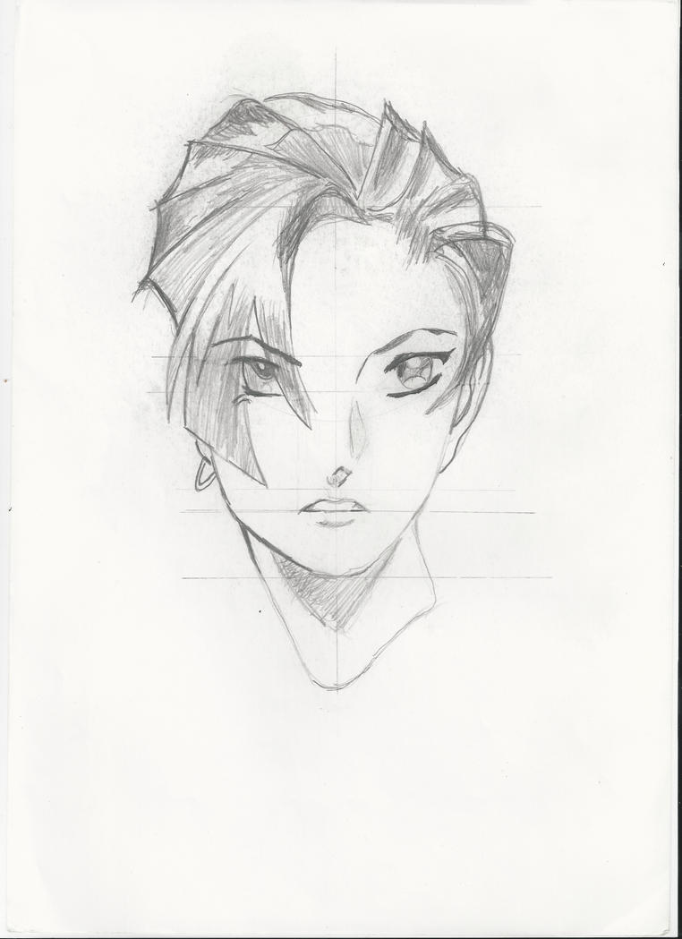 Femme fatale face front manga style by serget2 on deviantart - Femme chat manga ...
