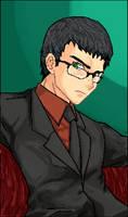 Glasses guy III Revolution by TemplarWiegraf