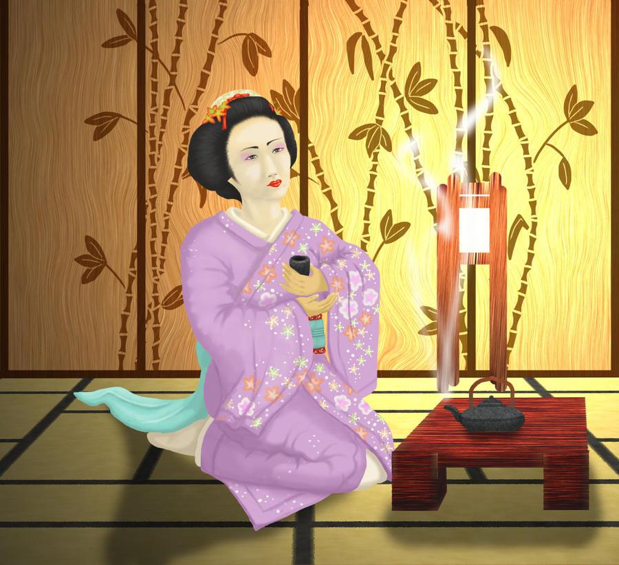 Geisha by BonbonVert