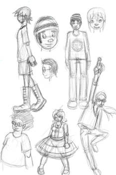 Geekery Sketches