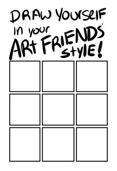 Draw yourself like your friends meme
