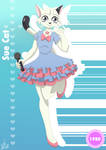 The Idols of Anime Cards: Sue Cat