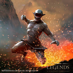 Ash Berserker the elder scroll legends