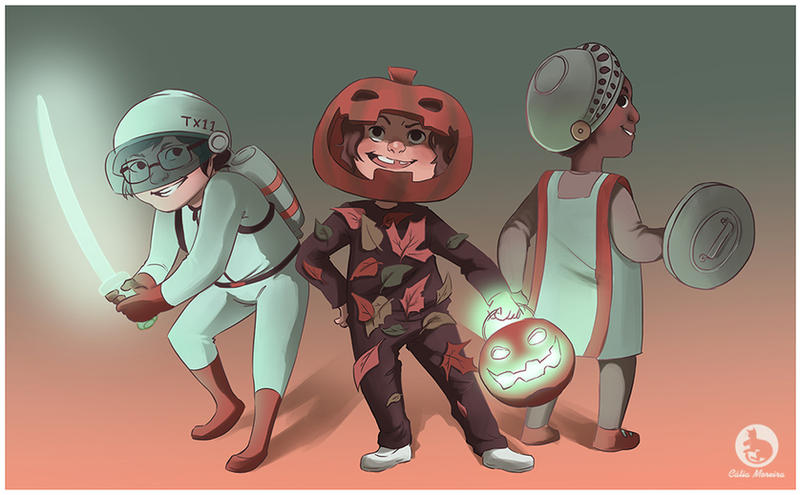 Costume Quest by gingerbreadcat ... & Costume Quest by gingerbreadcat on DeviantArt